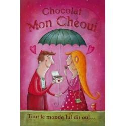 Carte Postale 10x15 «Mon Chéoui»