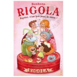Carte Postale 10x15 «Bonbons Rigola»