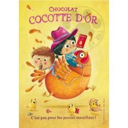 Carte Postale 10x15 «Cocotte d'or»