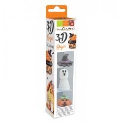 Lot de 3 décosucres 3D d'Halloween SCRAPCOOKING