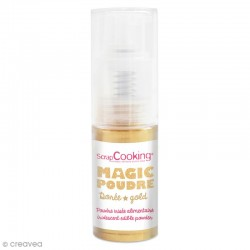 Spray Poudre Magic irisée Or SCRAPCOOKING