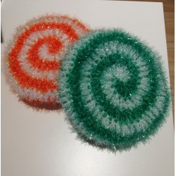 Eponge Tawashi Sucre d'Orge (Différents coloris)