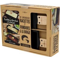 Coffret Raclette + Fondue LUMI COOKUT