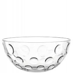 "Saladier en verre à bulles 30cm ""Cucina Optic"""