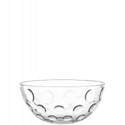 "Saladier en verre à bulles 22cm ""Cucina Optic"""