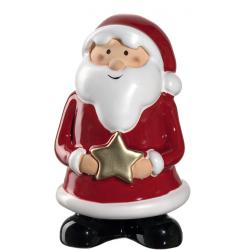 """Figurine Père Noël """"étoile"""" 15cm CLAUSE"""