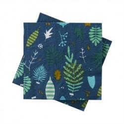 """Serviettes en papier 33cm (x20) """"Herbier"""""""