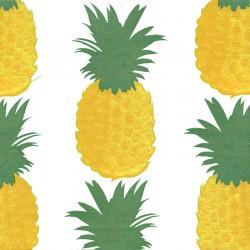 Serviettes en papier (x20) 40x40 Ananas