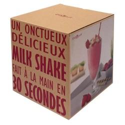 Coffret Milkshake avec 2 verres COOKUT