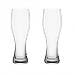 Set de 2 verres à bière LEONARDO