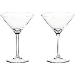 Set de 2 verres à cocktail et gin tonic LEONARDO