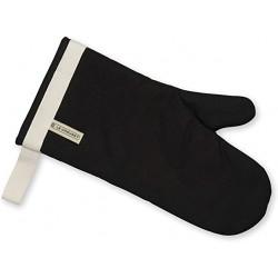 Gant à four en tissu noir LE CREUSET