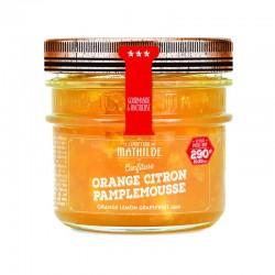 Confiture Orange citron pamplemousse COMPTOIR DE MATHILDE