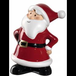 """Figurine Père Noël """"content"""" 11cm CLAUSE"""