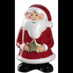 """Figurine Père Noël """"étoile"""" 11cm CLAUSE"""