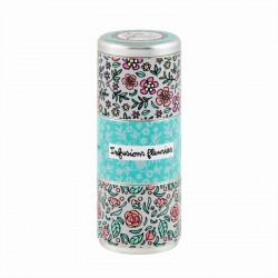 Boîte métal Tisanes x3 Infusions fleuries