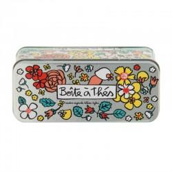 """Boîte métal à sachets de thé """"Origami"""""""
