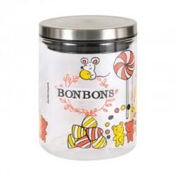 "Bocal en verre ""Bonbons"" Oursons"