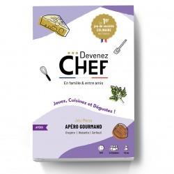 """Jeu """"Devenez Chef"""" Apéro gourmand"""