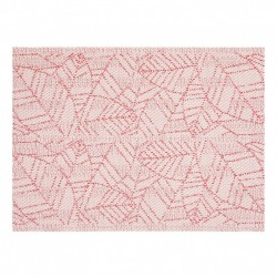 Set de table PVC Jacquard Rouge GENA