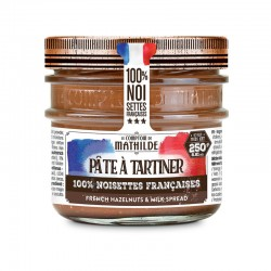 "Pâte à tartiner Lait Noisette ""So Frenchy"" 250g"