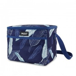"""Sac isotherme Lunch bag """"Navy Leaves"""" PACK-IT"""