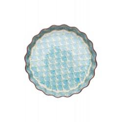 Tourtière céramique 22cm Bleu LOUISE