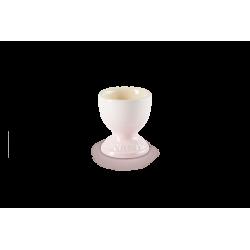 Coquetier en céramique Shell Pink LE CREUSET