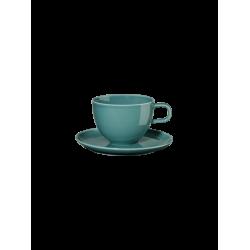 Tasse à café en porcelaine Pétrole KOLIBRI