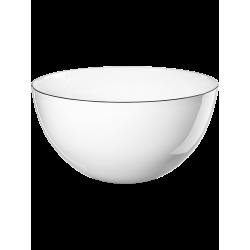 Saladier en porcelaine 21cm Blanc Ligne noire ASA