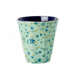 "Tasse Medium en mélamine ""Blue floral"" RICE"