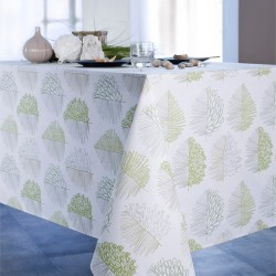 Nappe rectangle 160x250 Enduit acrylique ANGHA Jade