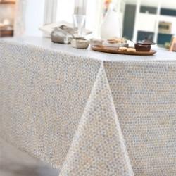 Nappe rectangle 160x250 Enduit acrylique PERLE Gris