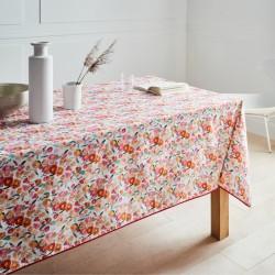 Nappe rectangle 160x200 Enduit PVC MILLEFIORI Blanc