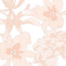 Serviettes en papier (x20) 40x40 Ethereal flower Rose