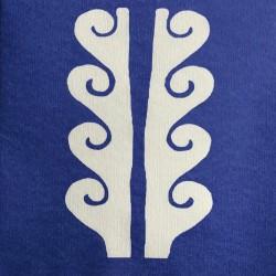 Serviettes en papier (x20) 40x40 Paros bleu