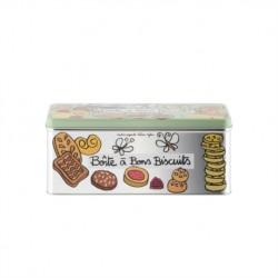 """Boîte métal à biscuits """"Pour ma santé"""""""