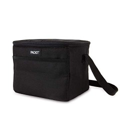 Sac isotherme Lunch bag Noir PACK-IT