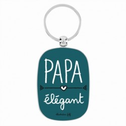 """Porte-clé """"Papa élégant"""""""