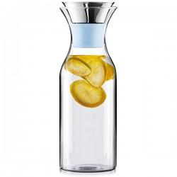 Carafe à eau en verre 1L ABlue