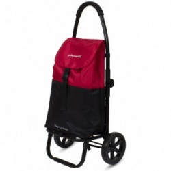 """Chariot 2 roues Cherry-Black """"Go Two"""" PLAYMARKET"""