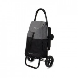 """Chariot 2 roues Textured-Black """"Go Two"""" PLAYMARKET"""