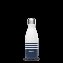 Bouteille isotherme 260ml Marinière bleu QWETCH