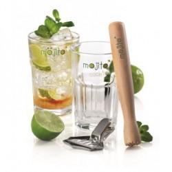 Coffret Mojito 2 verres et pilon