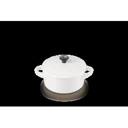 Mini cocotte 10cm EIFFEL Blanc LE CREUSET