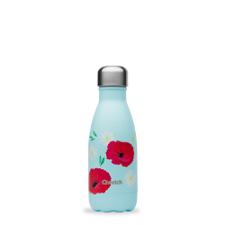 Bouteille isotherme 260ml Coquelicot QWETCH