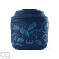 Bento isotherme MONBENTO Graphic bleu Ginkgo