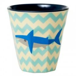 """Tasse Medium en mélamine """"Shark"""" 9cm RICE"""
