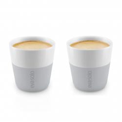 Set de 2 tasses à café espresso Gris clair