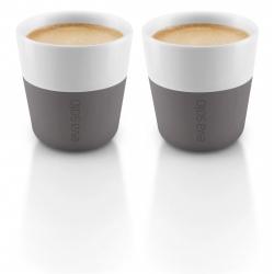 Set de 2 tasses à café espresso Gris foncé